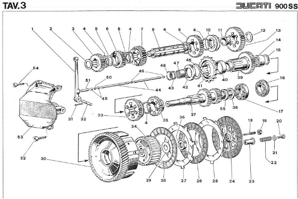Clutch and Transmission Diagram - Later Design.jpg